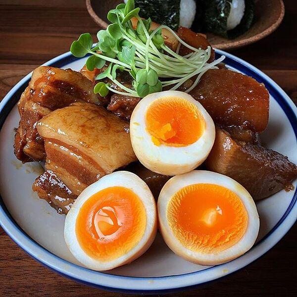 おつまみにおすすめ!豚バラ大根と味卵