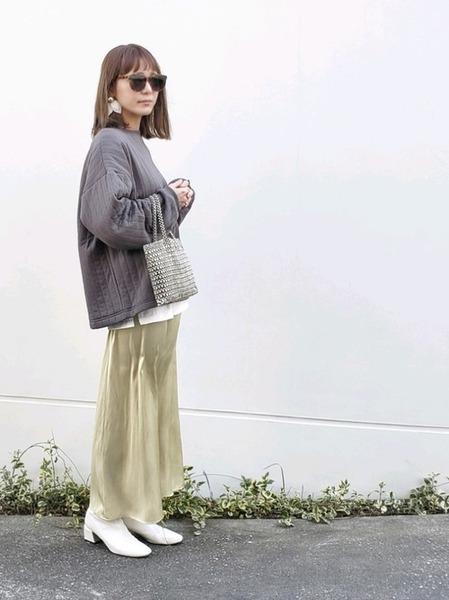 11月の東京で着たい服装 スカートスタイル2