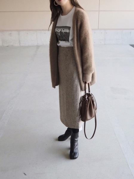 11月の東京で着たい服装 スカートスタイル4
