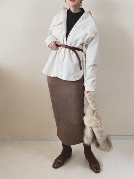 11月の東京で着たい服装 スカートスタイル6