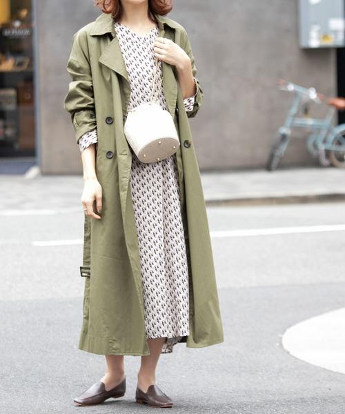 11月の東京で着たい服装 ワンピーススタイル