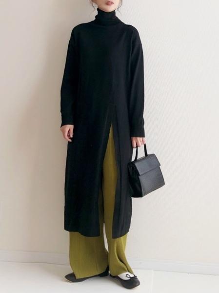 11月の東京で着たい服装 ワンピーススタイル4