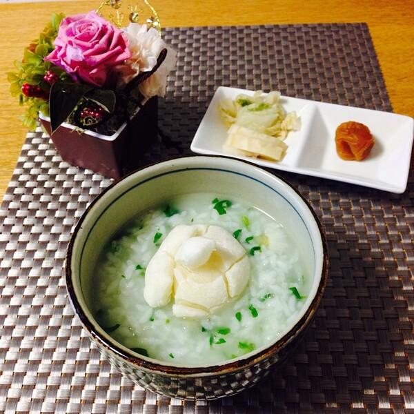 お粥の美味しい簡単アレンジレシピ☆七草粥3