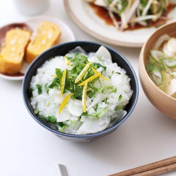 お粥の美味しい簡単アレンジレシピ☆七草粥5