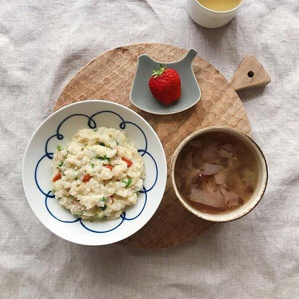 お粥の美味しい簡単アレンジレシピ☆普段2
