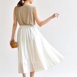 夏らしくさっぱりと♡「白スカート」を使った大人のレディースファッション