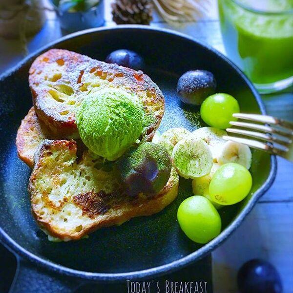 フレンチトーストのアレンジレシピ14