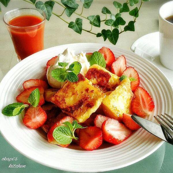 フレンチトーストのアレンジレシピ2
