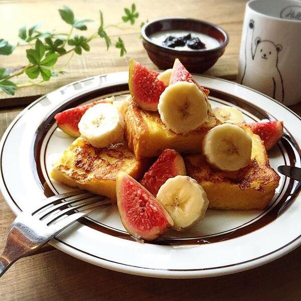 フレンチトーストのアレンジレシピ5