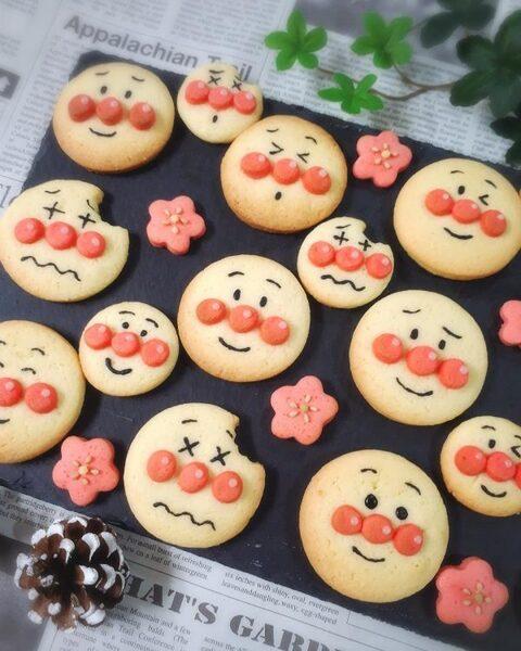 可愛いキャラクタークッキーの作り方♪1