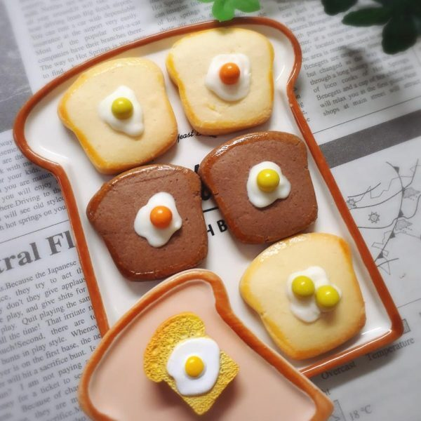 可愛い型抜きクッキーの作り方♪4