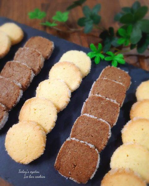 可愛いアイスボックスクッキーの作り方♪3