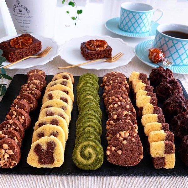 可愛いアイスボックスクッキーの作り方♪4