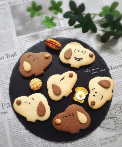 可愛いキャラクタークッキーの作り方♪2