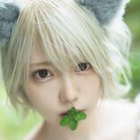 コスプレイヤー篠崎こころが「捨てネコ」で美バスト披露!『別冊ヤングチャンピオン』アザーカット公開