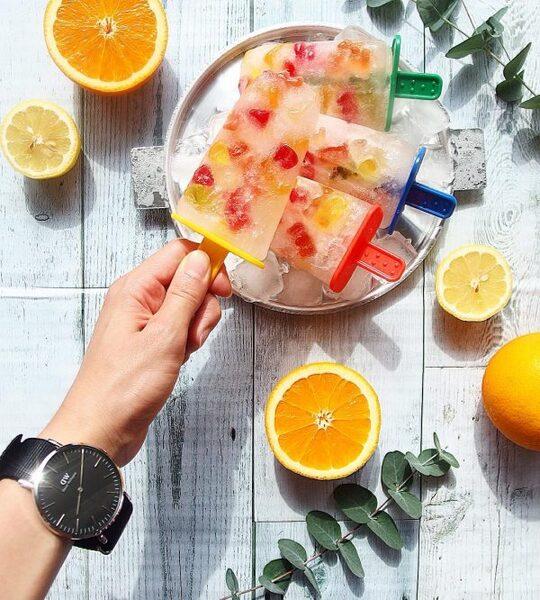 アイスのアレンジレシピ《アイスキャンディー》2