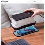 スマホの消毒までできちゃうワイヤレス充電器「Cell」 Kickstarterでプロジェクトを展開中