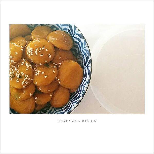簡単アレンジ!白玉のかぼちゃみたらし
