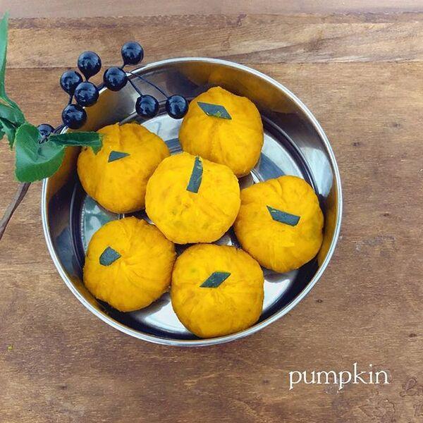 ハロウィン弁当におすすめ!かぼちゃ茶巾