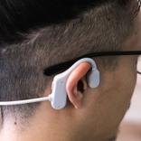 わずか16gの軽量性!耳を塞がない指向性オーディオ「IMDEE」