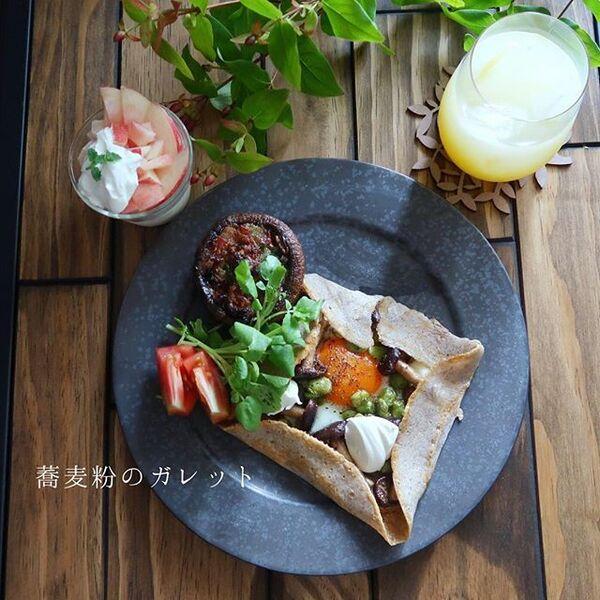 ガレット料理☆おすすめレシピ【きのこ】3