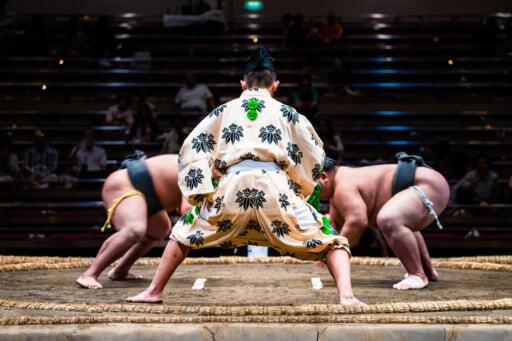 閂は相撲のワザでもあります