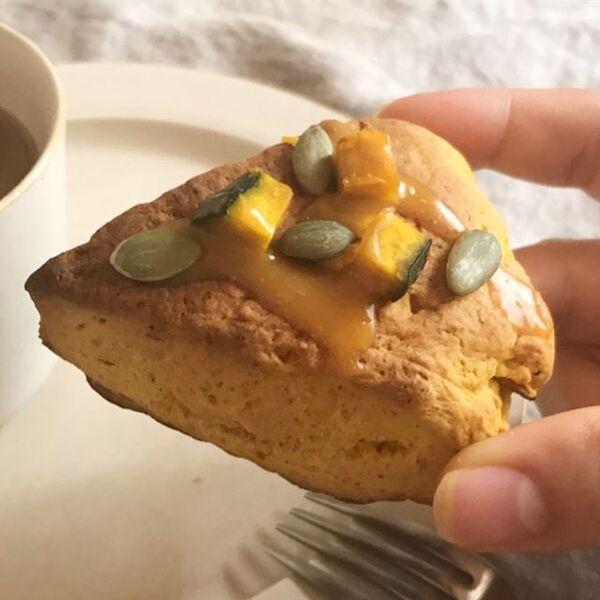 美味しいレシピ!かぼちゃスコーン