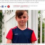 「勇敢なところを見せたい」と檻に侵入 11歳少年、動物園でクマに襲われ死亡(露)