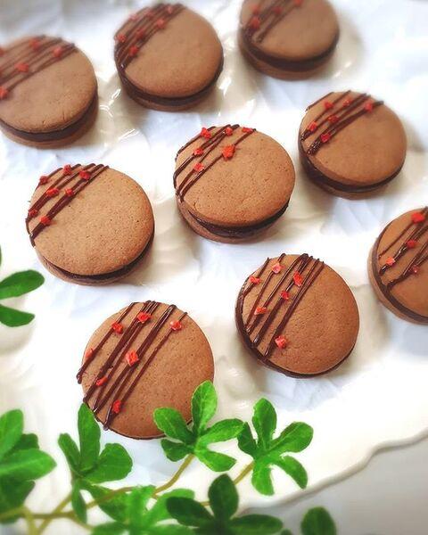 簡単アレンジに!生チョコサンドクッキー