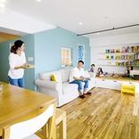 マンション内に「小さなおうち」。子ども室中心の間取りにリノベ