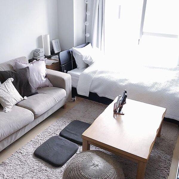 家具がいっぱいでも窮屈感を減らすレイアウト