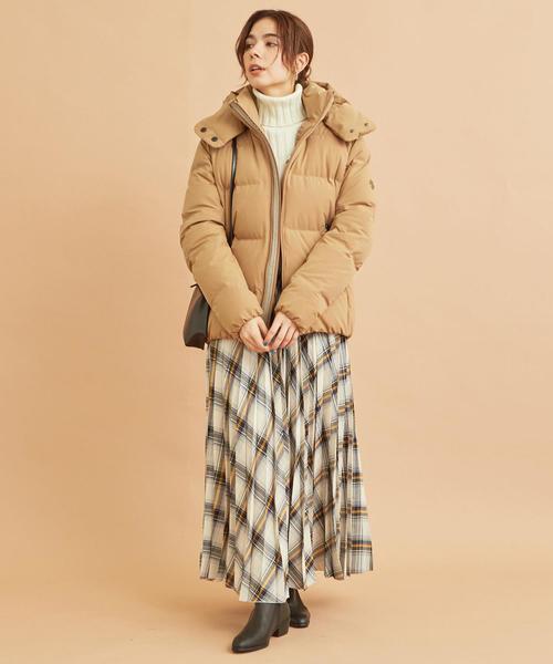 11月の北海道に相応しい服装【スカート】7