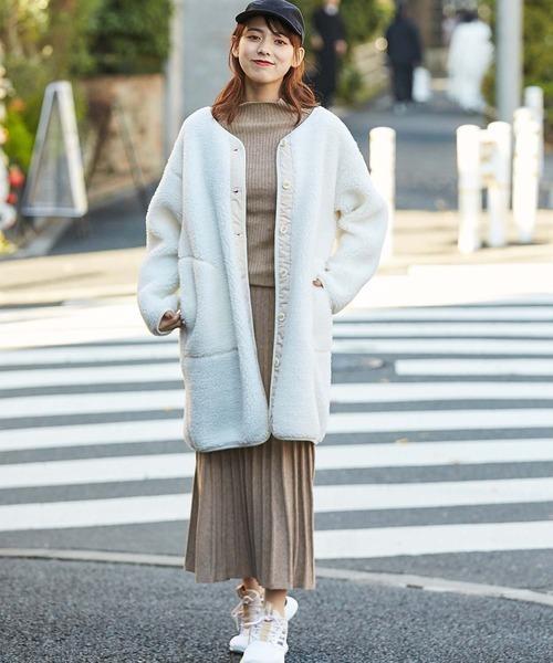 11月の北海道に相応しい服装【スカート】8