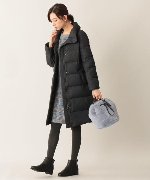 11月の北海道に相応しい服装【ワンピース】