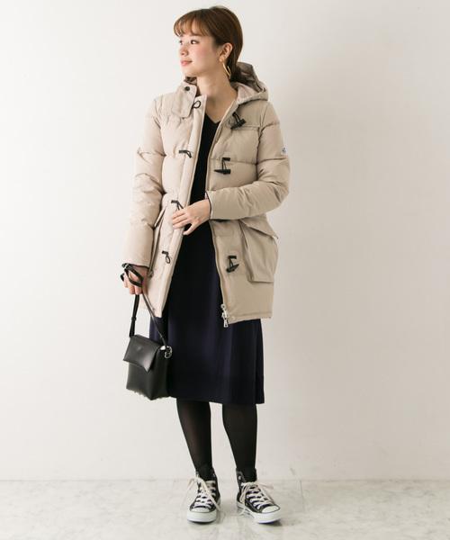11月の北海道に相応しい服装【ワンピース】4