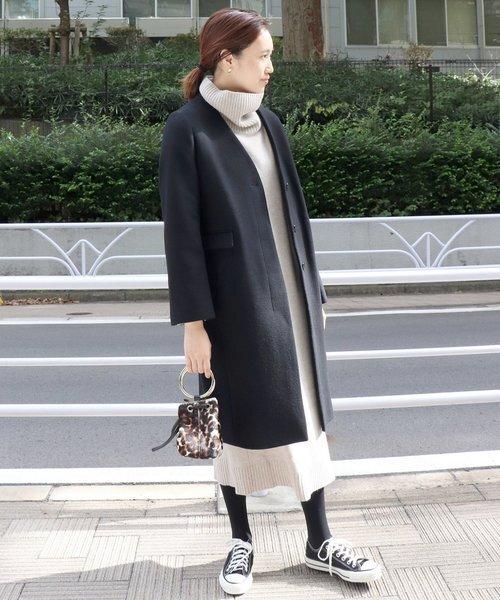 11月の北海道に相応しい服装【ワンピース】6