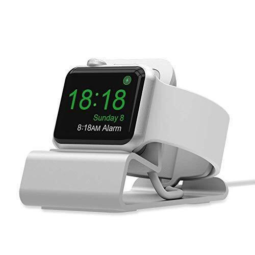 SPORTLINK アップルウォッチ 充電 スタンド Apple Watch Series 4 / 3 / 2 / 1 スタンド アップルウォッチ シリーズ 4 / 3 / 2 / 1 アシストドック 44mm / 42mm / 40mm / 38mmに対応するスタンド (ホワイト)