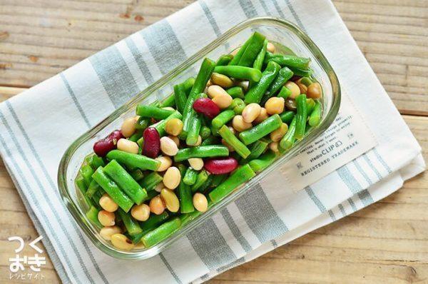人気レシピ!インゲンと豆のエスニックピクルス