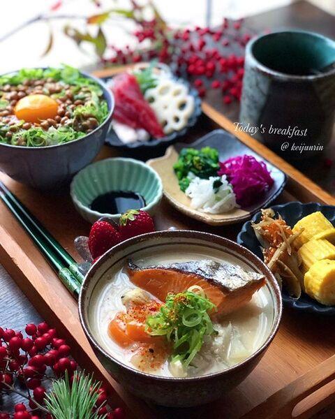 関西の定番和食!鮭入り粕汁