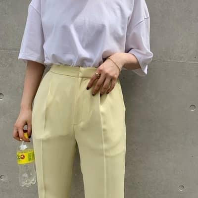 【保存版】万能《白Tシャツ》の太って見えない5つの方法