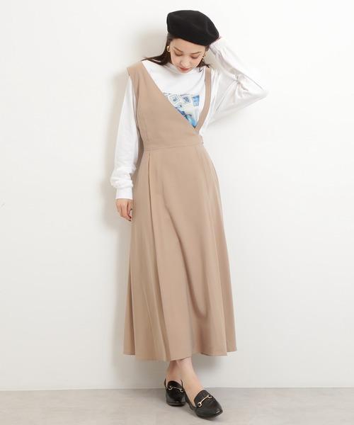 [N.(N. Natural Beauty Basic)] ◆アシンメトリージャンパースカート