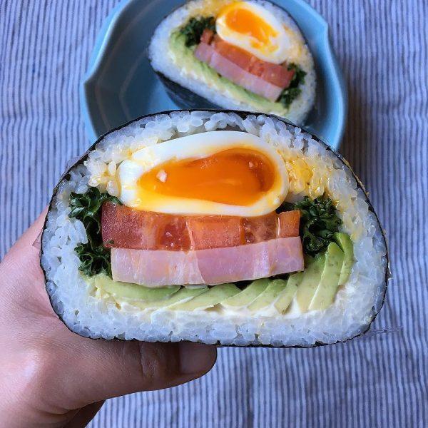 おにぎらずの人気レシピ《野菜・サラダ風》2