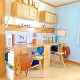 兄弟姉妹の2人部屋でもおしゃれに♪シンプルで過ごすやすい子供部屋インテリア