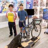 映画『弱虫ペダル』自転車指導の城田大和さんにお話を聞いてみた&バーチャル自転車漕ぎまくってみた