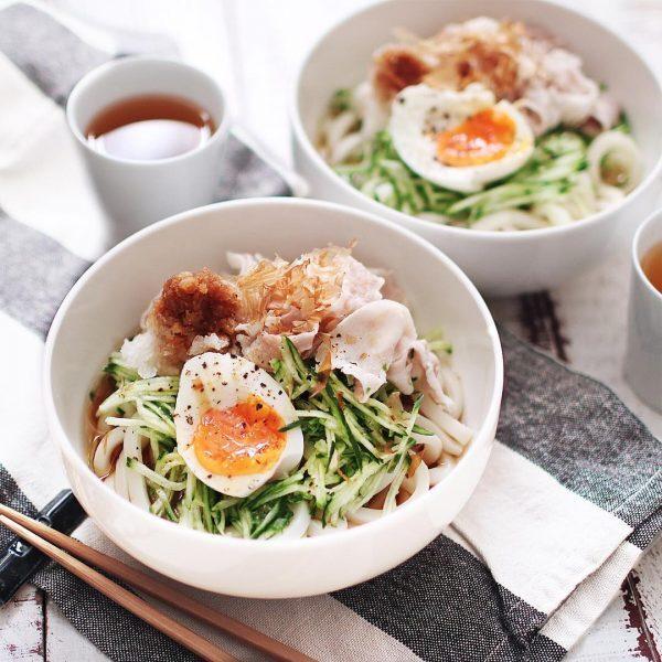 子供に人気の昼ごはんレシピ《冷たい麺》3