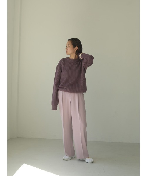 """[CANAL JEAN] TODAYFUL(トゥデイフル) """"Georgette Rough Trousers""""ジョーゼットラフトラウザー/12010708"""