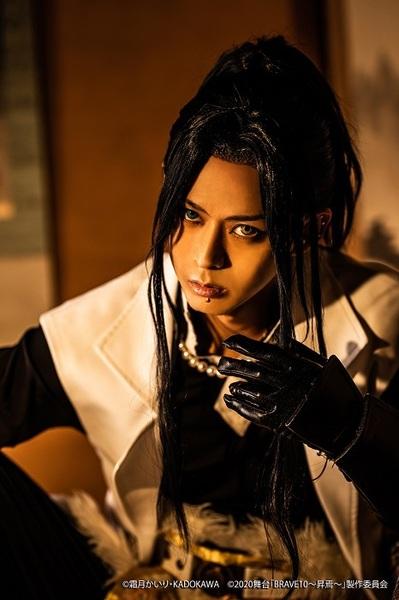 徳川秀忠役:末野卓磨 (C)霜⽉かいり・KADOKAWA (C)2020 舞台「BRAVE10~昇焉~」製作委員会