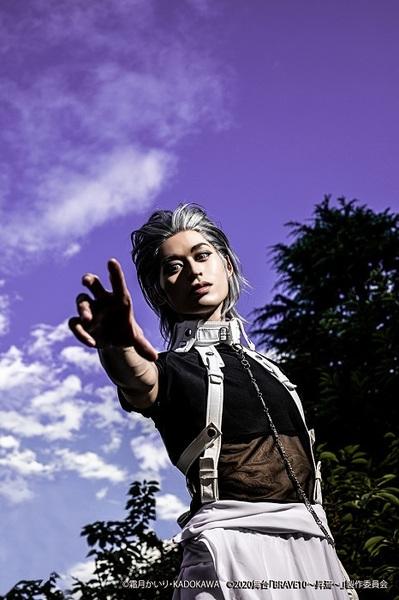 スサノオ役:高本学 (C)霜⽉かいり・KADOKAWA (C)2020 舞台「BRAVE10~昇焉~」製作委員会