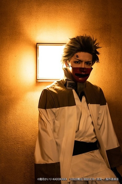 壱丸役:松田一希 (C)霜⽉かいり・KADOKAWA (C)2020 舞台「BRAVE10~昇焉~」製作委員会