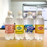 【実験】ウィルキンソン炭酸「レモン」「オレンジ」「ピーチ」「グレープフルーツ」全部混ぜたらこんな味